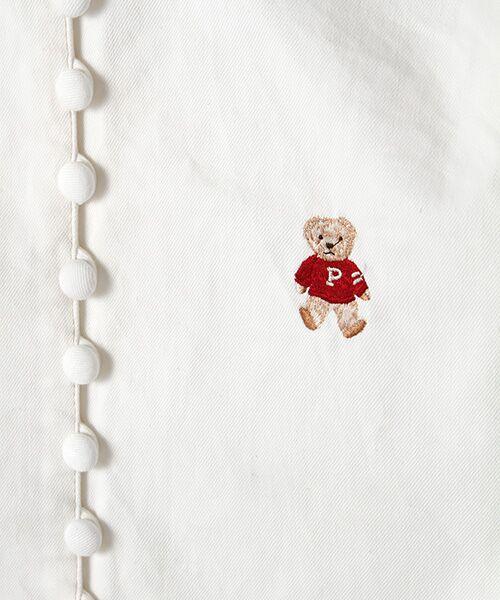 PINK HOUSE / ピンクハウス シャツ・ブラウス | キャラクター&モチーフワンポイント刺繍デニムブラウス | 詳細8