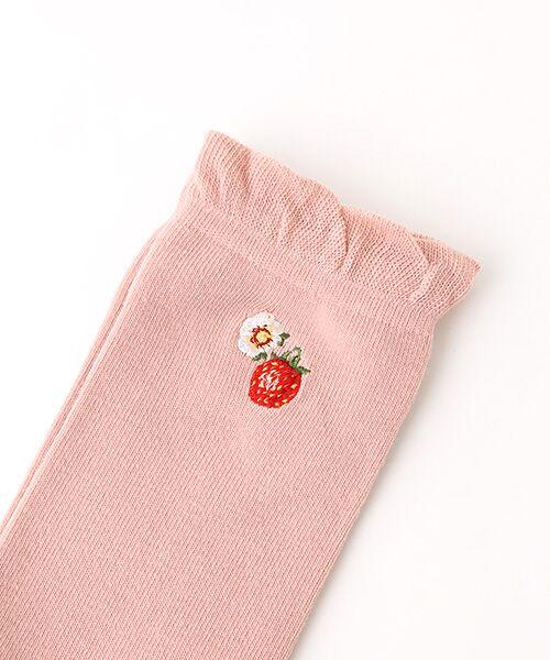 PINK HOUSE / ピンクハウス ソックス | キャラクター&モチーフワンポイント刺繍ソックス | 詳細3