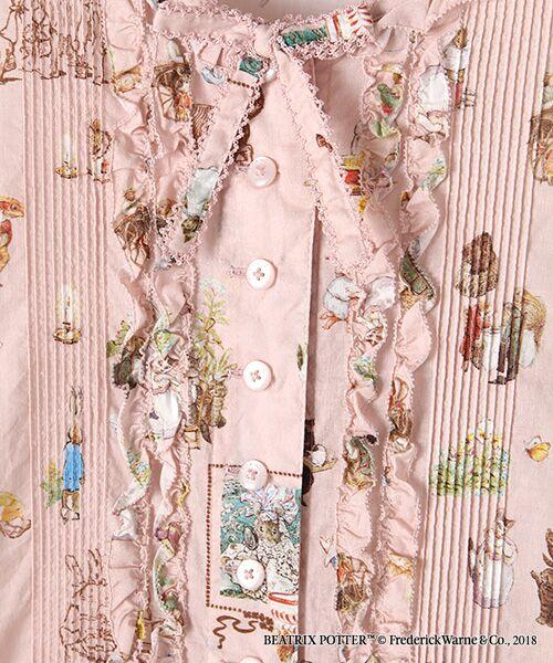 PINK HOUSE / ピンクハウス ロング・マキシ丈ワンピース | ピーターラビット(TM)プリントワンピース | 詳細2