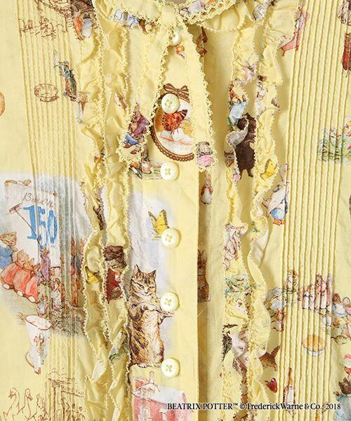 PINK HOUSE / ピンクハウス ロング・マキシ丈ワンピース | ピーターラビット(TM)プリントワンピース | 詳細7