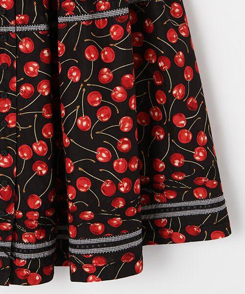 PINK HOUSE / ピンクハウス ロング・マキシ丈スカート   アメリカンチェリープリントスカート   詳細3