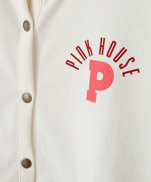 PINK HOUSE / ピンクハウス パーカー | ギンガムアップリケパーカー | 詳細6