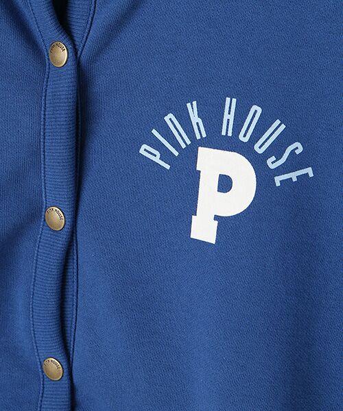 PINK HOUSE / ピンクハウス パーカー | ギンガムアップリケパーカー | 詳細2