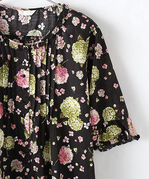 PINK HOUSE / ピンクハウス ロング・マキシ丈ワンピース | ハイドランジアプリントワンピース | 詳細2