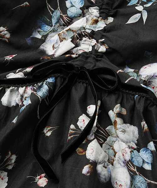 PINK HOUSE / ピンクハウス ロング・マキシ丈スカート | ルドゥーテ ブーケ柄スカート | 詳細1