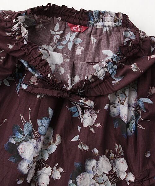 PINK HOUSE / ピンクハウス ロング・マキシ丈スカート | ルドゥーテ ブーケ柄スカート | 詳細5