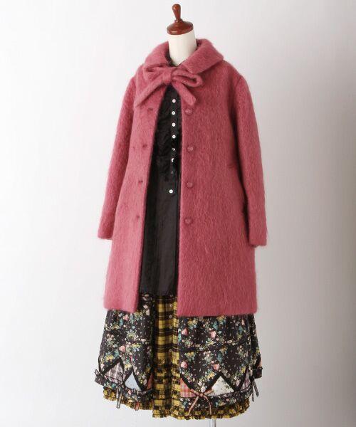 PINK HOUSE / ピンクハウス ロング・マキシ丈スカート | ルドゥーテ 小バラ柄スカート | 詳細2