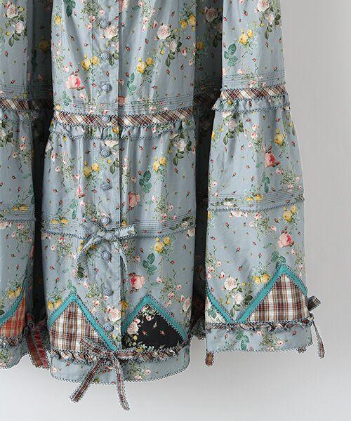 PINK HOUSE / ピンクハウス ロング・マキシ丈スカート | ルドゥーテ 小バラ柄スカート | 詳細5
