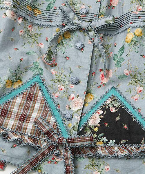 PINK HOUSE / ピンクハウス ロング・マキシ丈スカート | ルドゥーテ 小バラ柄スカート | 詳細7