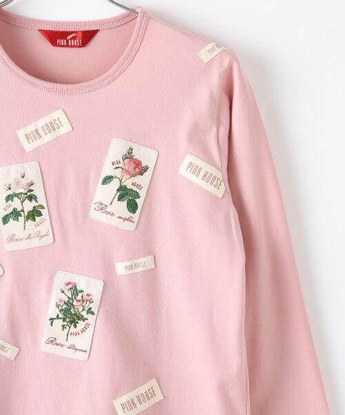 PINK HOUSE / ピンクハウス カットソー | ルドゥーテ ワッペン使いカットソー | 詳細4