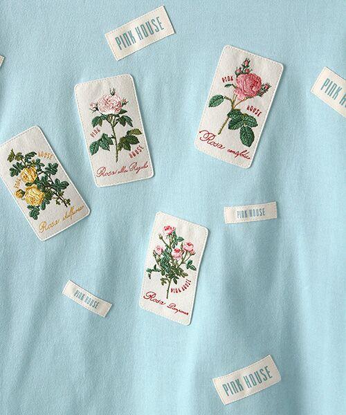 PINK HOUSE / ピンクハウス カットソー | ルドゥーテ ワッペン使いカットソー | 詳細8