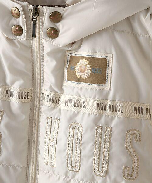 PINK HOUSE / ピンクハウス ブルゾン | ロゴ&ネームワッペン使い中綿ブルゾン | 詳細8