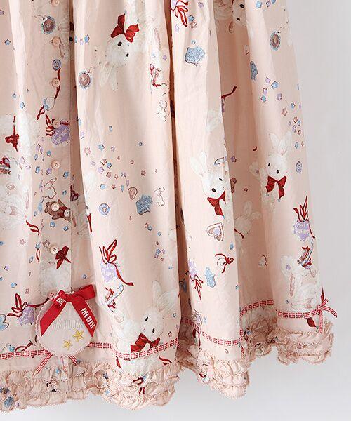 PINK HOUSE / ピンクハウス ロング・マキシ丈スカート | エトワールシュクレプリントスカート | 詳細3