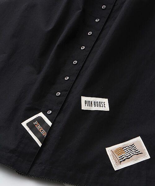 PINK HOUSE / ピンクハウス ロング・マキシ丈スカート   ネームワッペン使いスカート   詳細1