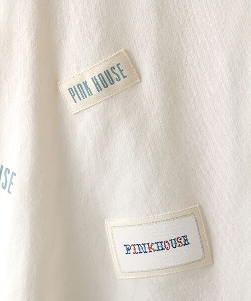 PINK HOUSE / ピンクハウス カットソー   ネームワッペン&ロゴプリントカットソー   詳細2