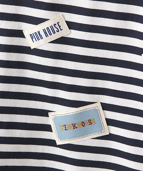 PINK HOUSE / ピンクハウス カットソー | ネームワッペン&ロゴプリントカットソー | 詳細6