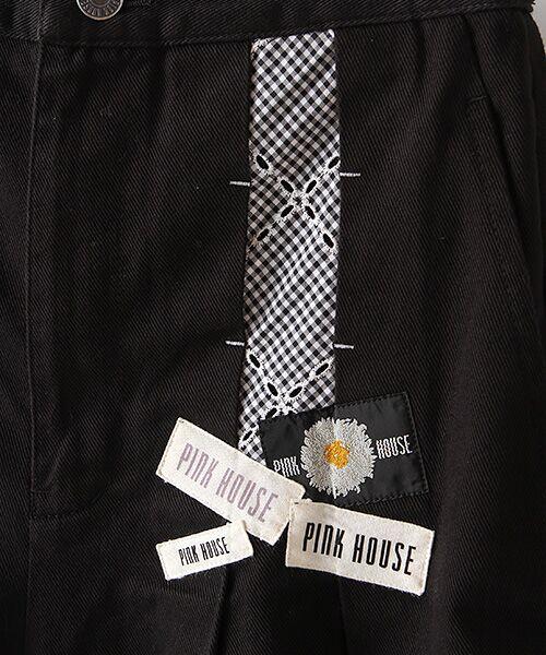 PINK HOUSE / ピンクハウス その他パンツ   アイレットレース使いワイドパンツ   詳細1
