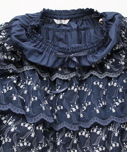 PINK HOUSE / ピンクハウス ロング・マキシ丈スカート | すずらんレーススカート | 詳細6