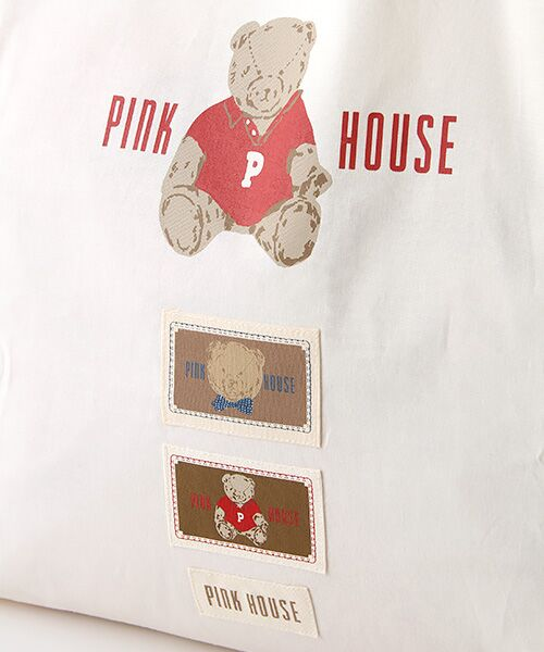 PINK HOUSE / ピンクハウス トートバッグ | 【オンライン先行販売】オールドベアプリントトートバッグ | 詳細5