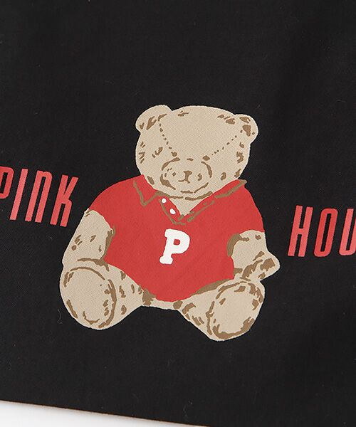 PINK HOUSE / ピンクハウス トートバッグ | 【アウトレット】【オンライン先行販売】オールドベアプリント巾着バッグ | 詳細3