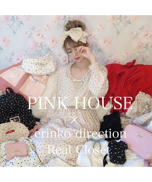 PINK HOUSE / ピンクハウス ロング・マキシ丈ワンピース | 【オンライン先行】バックサテンアムンゼンワンピース | 詳細13