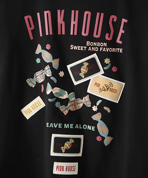 PINK HOUSE / ピンクハウス カットソー   【オンライン先行販売】キャンディプリントカットソー   詳細1
