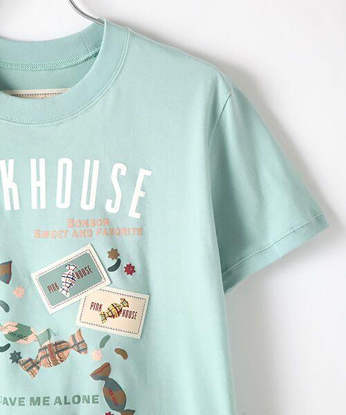 PINK HOUSE / ピンクハウス カットソー   【オンライン先行販売】キャンディプリントカットソー   詳細6
