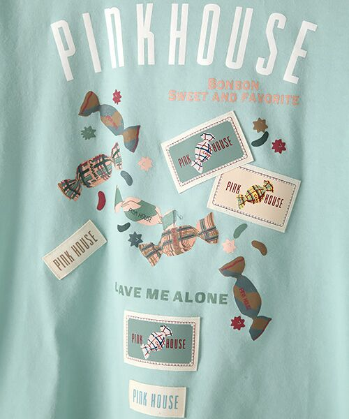 PINK HOUSE / ピンクハウス カットソー   【オンライン先行販売】キャンディプリントカットソー   詳細8