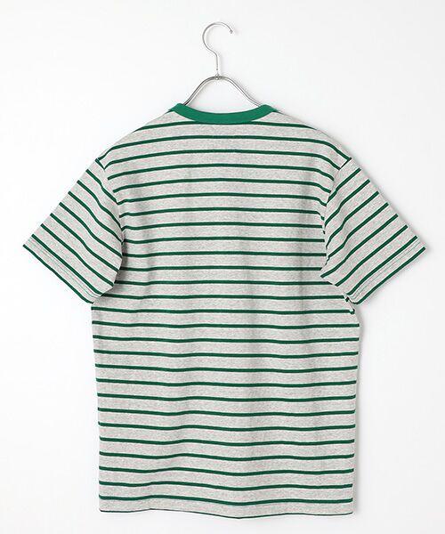 PINK HOUSE / ピンクハウス Tシャツ | エンジェルローズ刺繍ボーダーTシャツ | 詳細2