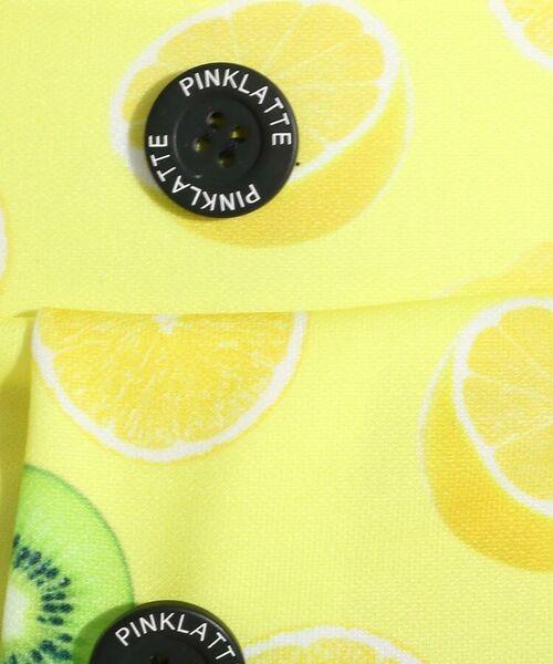 PINK-latte / ピンク ラテ 水着・スイムグッズ   水着 フルーツ柄ビキニ+フルーツ柄水着+オフショルトップスセット   詳細3