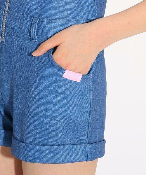 PINK-latte / ピンク ラテ 水着・スイムグッズ | 水着 サロペット+肩あきTシャツセット | 詳細6