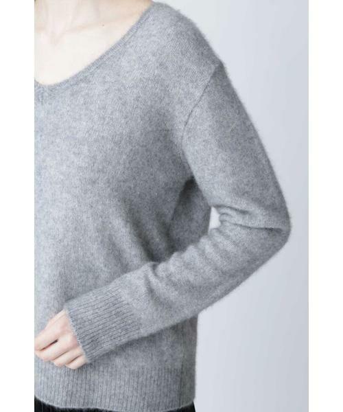 PINKY & DIANNE / ピンキーアンドダイアン ニット・セーター | Vネックシャギーニット | 詳細8