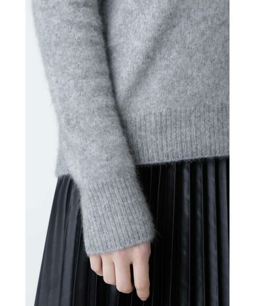 PINKY & DIANNE / ピンキーアンドダイアン ニット・セーター | Vネックシャギーニット | 詳細9