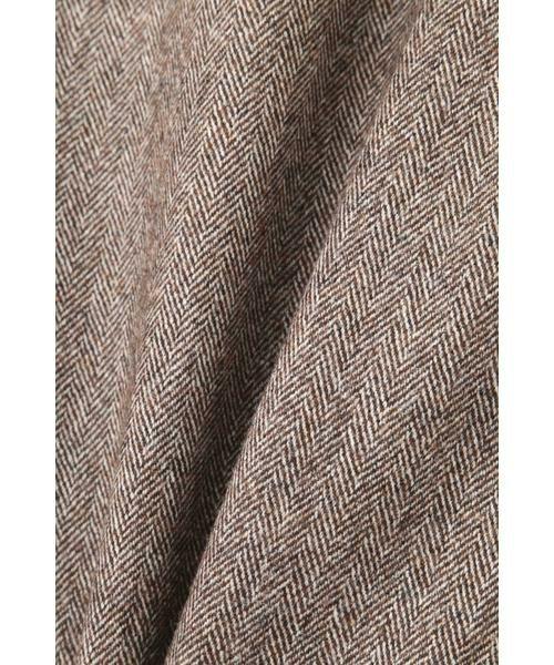 PINKY & DIANNE / ピンキーアンドダイアン スカート | ◆ウールヘリンボーンビットアクセントスカート | 詳細4