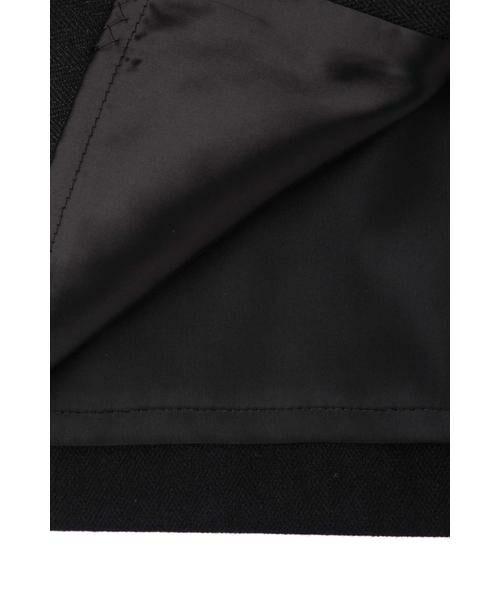 PINKY & DIANNE / ピンキーアンドダイアン スカート | ◆ウールヘリンボーンビットアクセントスカート | 詳細7