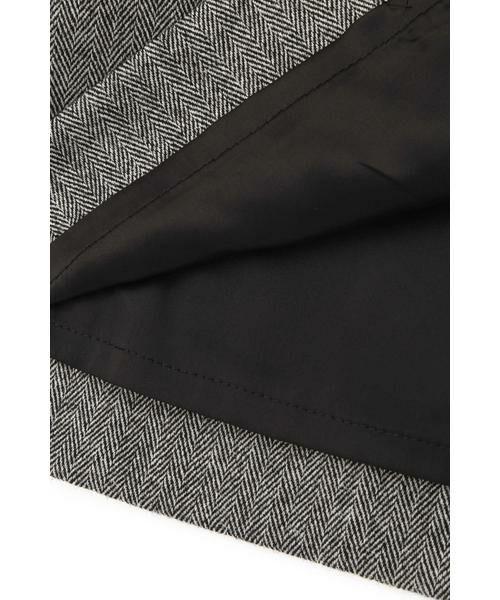 PINKY & DIANNE / ピンキーアンドダイアン スカート | ◆ウールヘリンボーンビットアクセントスカート | 詳細17