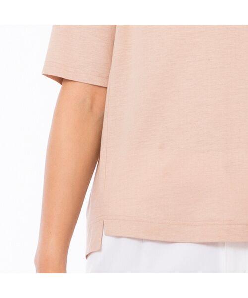 PISANO / ピサーノ カットソー | スマイルロゴ・プリントTシャツ | 詳細7