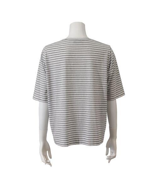 PISANO / ピサーノ カットソー | スマイルロゴ・プリントTシャツ | 詳細14