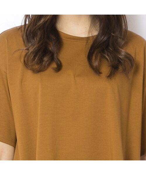 PISANO / ピサーノ カットソー | ソルシールド・フレアラインTシャツ | 詳細1