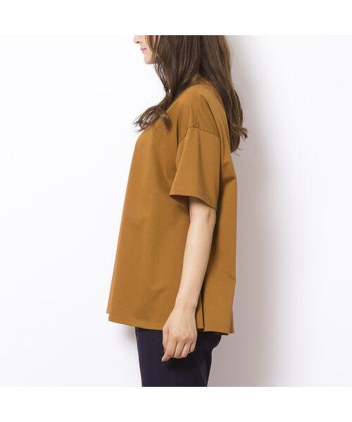 PISANO / ピサーノ カットソー | ソルシールド・フレアラインTシャツ | 詳細3