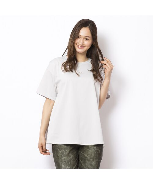 PISANO / ピサーノ カットソー | ソルシールド・フレアラインTシャツ | 詳細10