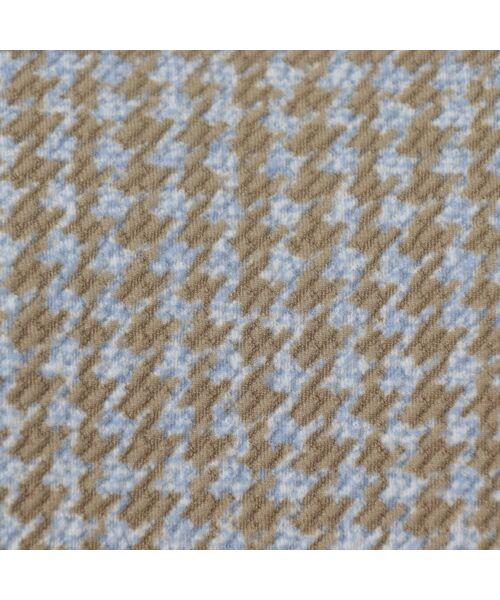 PISANO / ピサーノ カットソー | 【大きいサイズ/人気のため追加生産】ミニ千鳥プリントロングTシャツ | 詳細11