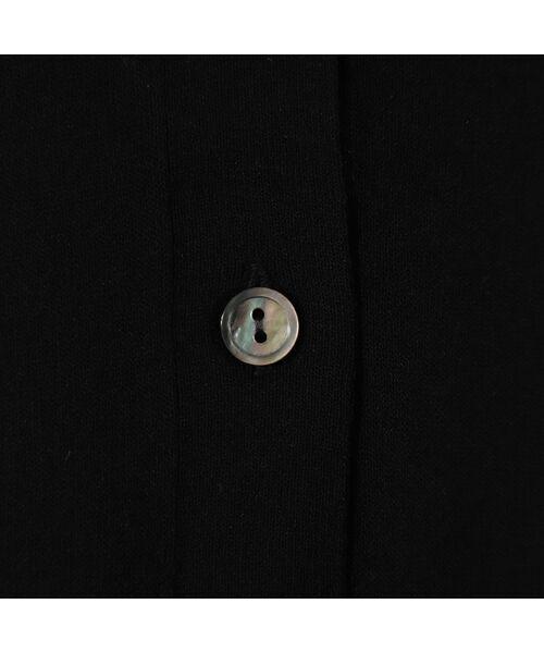 PISANO / ピサーノ ニット・セーター | ハイブリッドコットン・Vネックアンサンブルニット | 詳細5