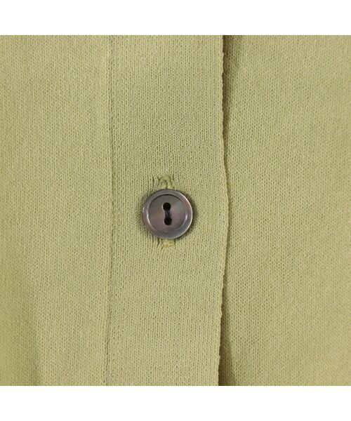 PISANO / ピサーノ ニット・セーター | ハイブリッドコットン・Vネックアンサンブルニット | 詳細13