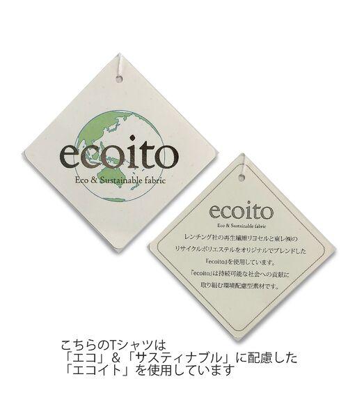 PISANO / ピサーノ カットソー | エコイト天竺・クルーネックTシャツ | 詳細9