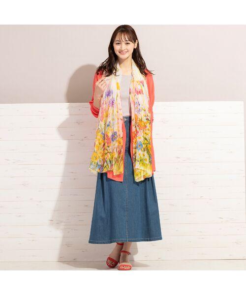 PISANO / ピサーノ ミニ・ひざ丈スカート | ライトオンスデニム・フレアスカート | 詳細4