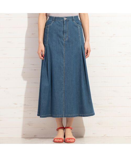 PISANO / ピサーノ ミニ・ひざ丈スカート | ライトオンスデニム・フレアスカート | 詳細5