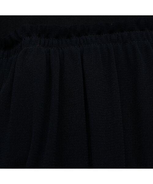 PISANO / ピサーノ カットソー   チュール重ねバルーン・クラシック天竺Tシャツ   詳細5