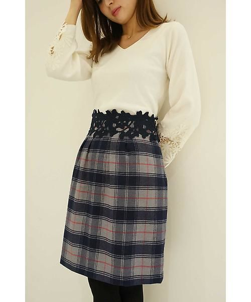 【NEW ARRIVAL】大人可愛いチェックワンピ&スカート新入荷!!!完売の可能性がございますのでお早めにお買い求めください♪