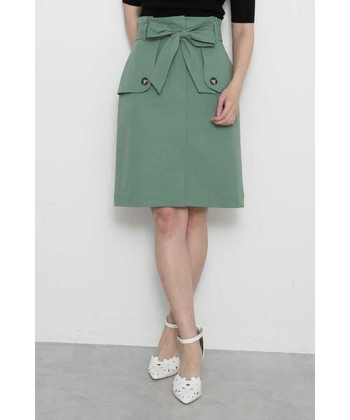 【HITアイテム】即完売のトレンチタイトスカートが人気です!